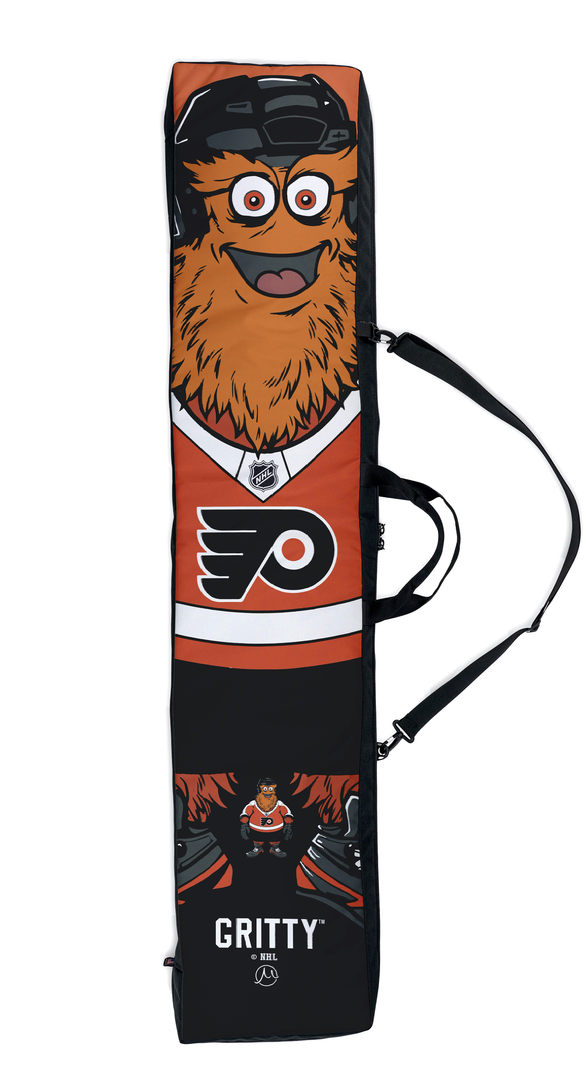 Bags nhl philadelphia flyers gritty large