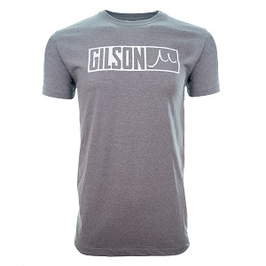 Gilson Bar Logo  Gray Tee