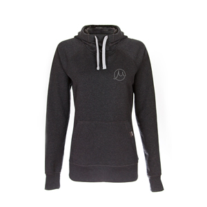Gilson Circle Logo  Carbon Cowl Neck