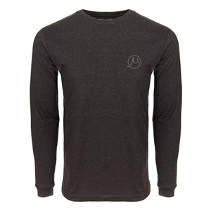 Gilson circle logo carbon long sleeve front small