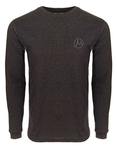 Gilson Circle Logo  Carbon Long Sleeve