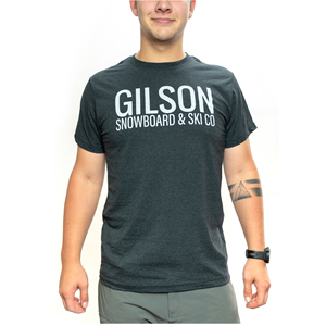 Gilson classic carbon tee fit front small
