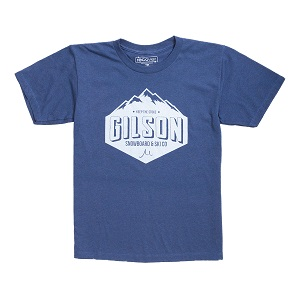 Gilson mountain blue tee front small
