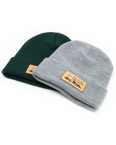 Gilson patch beanie all small