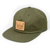 Gilson patch hat buck khaki thumb