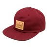 Gilson patch hat pale maroon thumb