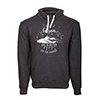 Life is better carbon hoodie front thumb