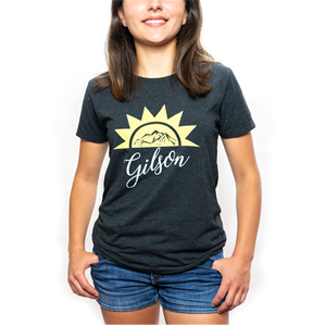 Sunrise carbon tee fit front small