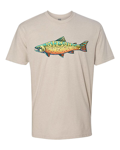 Trout sand tee small
