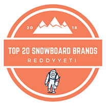 reddy yeti top snowboard brands logo