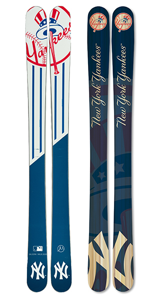 New York Yankees Skis