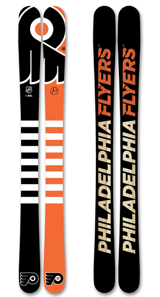 Philadelphia Flyers Skis