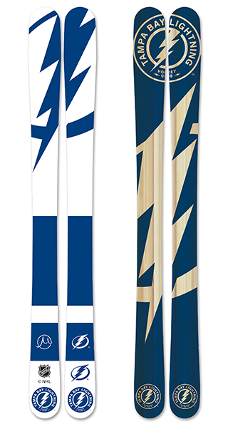 Nhl tampa bay lightning skis small
