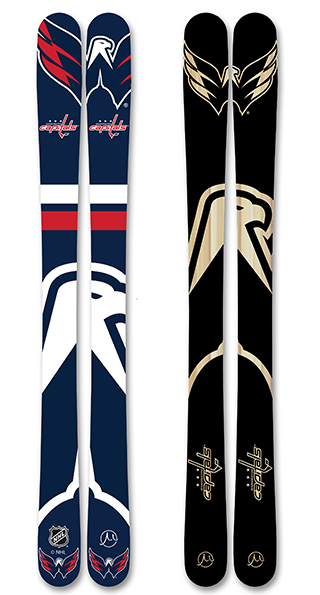 Nhl washington capitals skis small