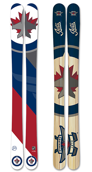 Nhl winnipeg jets skis small