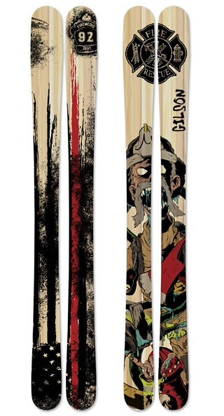 Redline skis small