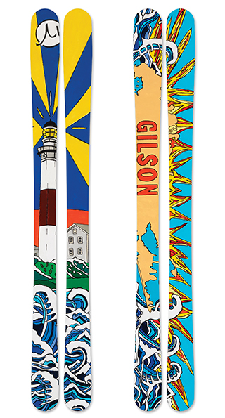 The montauk skis small
