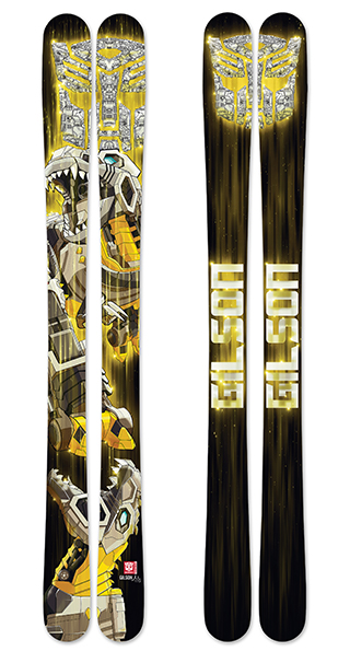 Transformers grimlock skis small