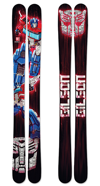 Optimus Prime Skis