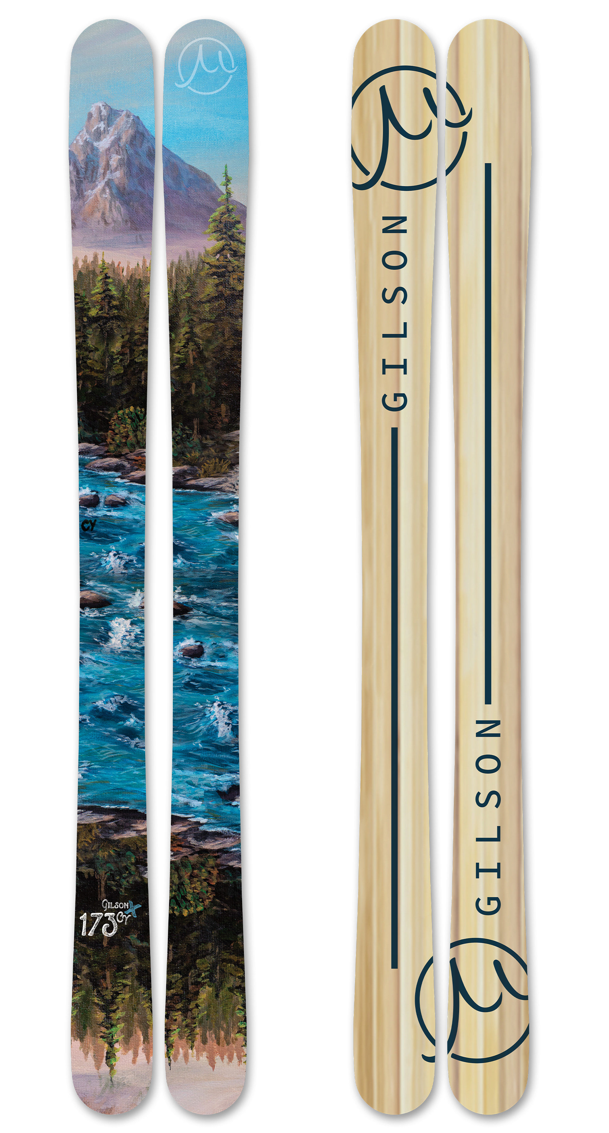 Wildlands skis large