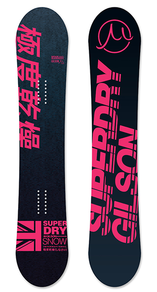 Superdry motion pink small